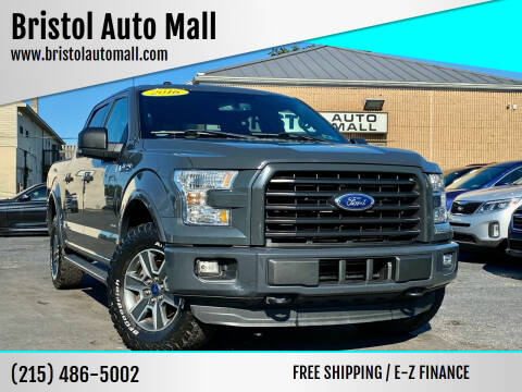 2016 Ford F-150 for sale at Bristol Auto Mall in Levittown PA
