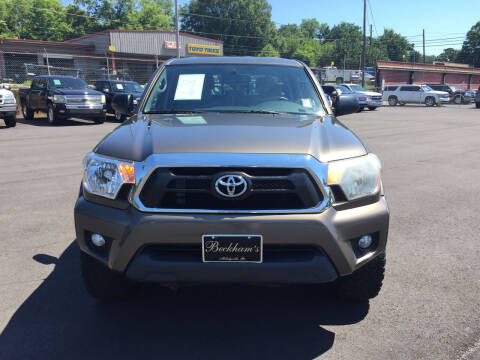 2012 Toyota Tacoma for sale at Beckham's Used Cars in Milledgeville GA