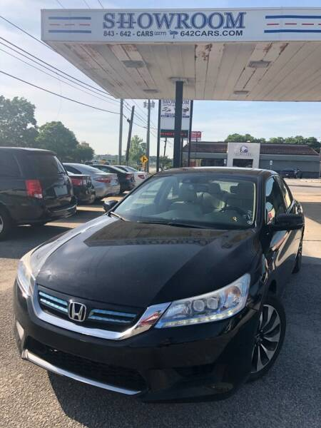 2015 Honda Accord Hybrid for sale at Showroom Auto Sales of Charleston in Charleston SC
