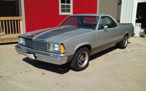 1981 Chevrolet El Camino for sale at Bob's Garage Auto Sales and Towing in Storm Lake IA