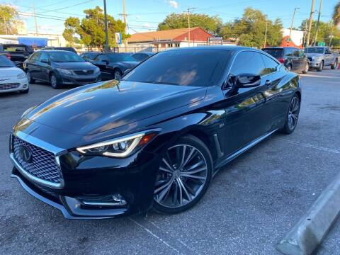 2019 Infiniti Q60 for sale at CHECK  AUTO INC. in Tampa FL