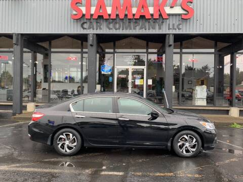 2017 Honda Accord for sale at Siamak's Car Company llc in Salem OR