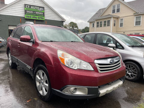 2012 Subaru Outback for sale at Connecticut Auto Wholesalers in Torrington CT