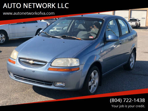 2006 Chevrolet Aveo for sale at AUTO NETWORK LLC in Petersburg VA