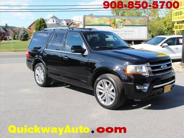 2016 Ford Expedition for sale at Quickway Auto Sales in Hackettstown NJ