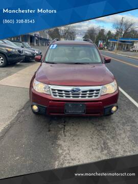 2013 Subaru Forester for sale at Manchester Motors in Manchester CT