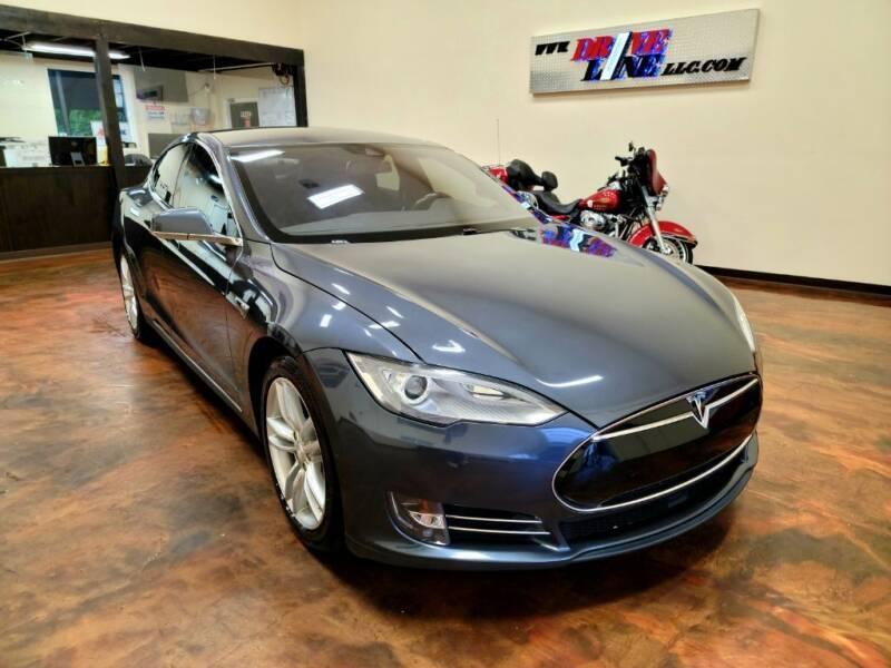 2015 Tesla Model S for sale at Driveline LLC in Jacksonville FL