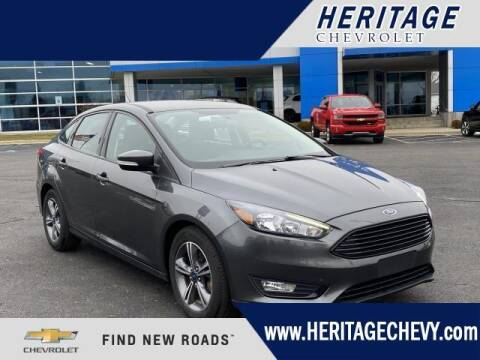 2018 Ford Focus for sale at HERITAGE CHEVROLET INC in Creek MI