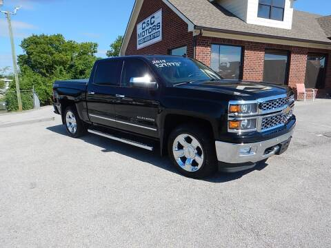 2014 Chevrolet Silverado 1500 for sale at C & C MOTORS in Chattanooga TN