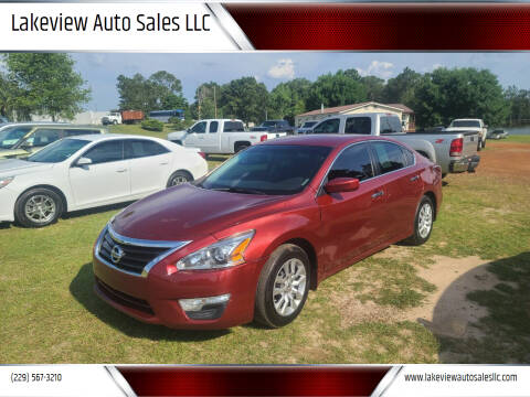 2015 Nissan Altima for sale at Lakeview Auto Sales LLC in Sycamore GA