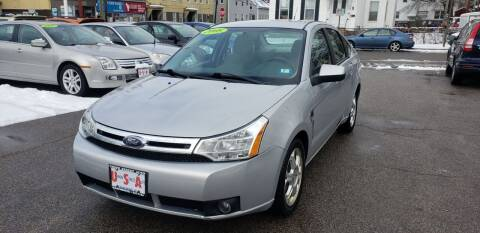 2008 Ford Focus for sale at Union Street Auto in Manchester NH