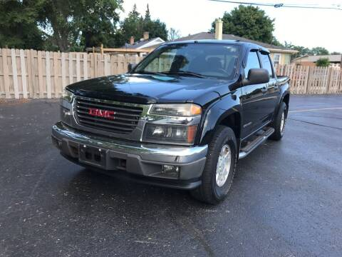 2005 GMC Canyon for sale at Petite Auto Sales in Kenosha WI