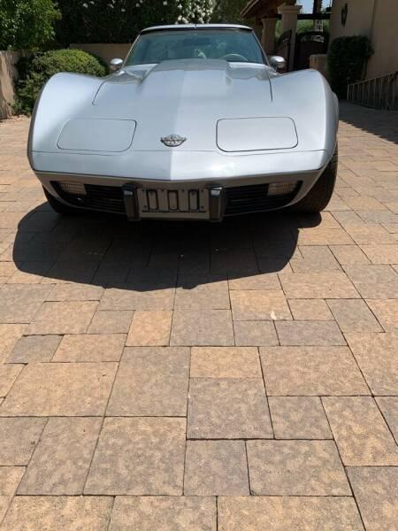 1978 Chevrolet Corvette for sale at AZ Classic Rides in Scottsdale AZ