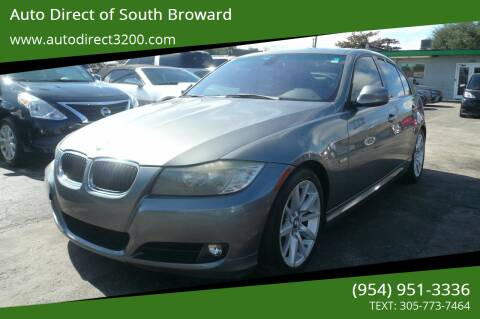2011 BMW 3 Series for sale at Auto Direct of South Broward in Miramar FL
