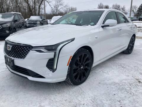 2020 Cadillac CT4 for sale at SUNSET CURVE AUTO PARTS INC in Weyauwega WI