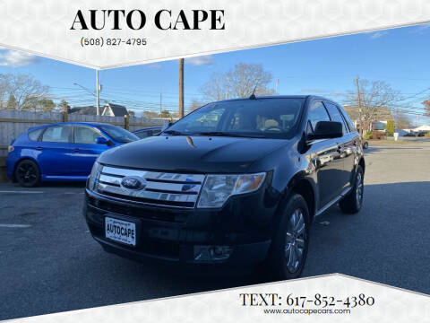 2008 Ford Edge for sale at Auto Cape in Hyannis MA