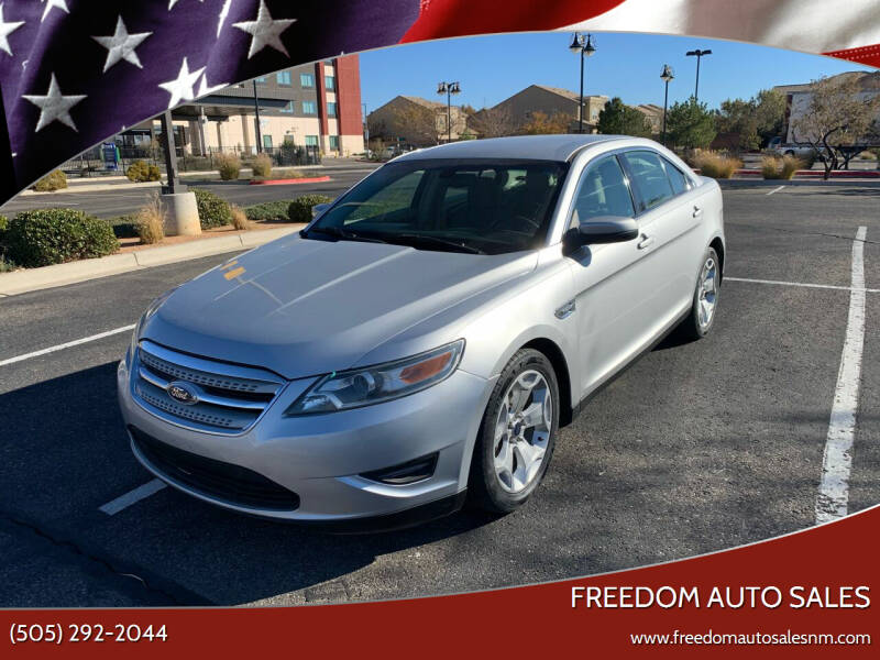 2012 Ford Taurus for sale at Freedom Auto Sales in Albuquerque NM