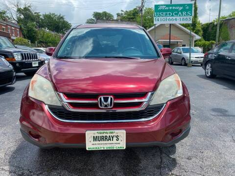 2010 Honda CR-V for sale at Murrays Used Cars in Baltimore MD