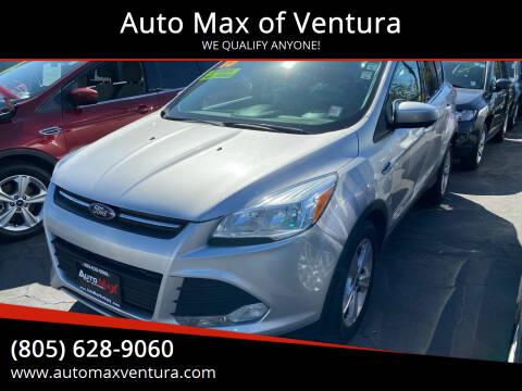 2015 Ford Escape for sale at Auto Max of Ventura in Ventura CA