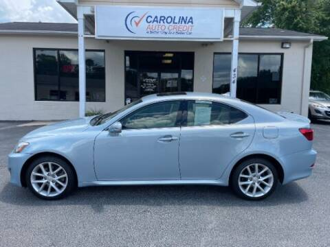 2012 Lexus IS 250 for sale at Carolina Auto Credit in Youngsville NC