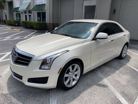 2013 Cadillac ATS for sale at Auto Remarketing Group in Pompano Beach FL