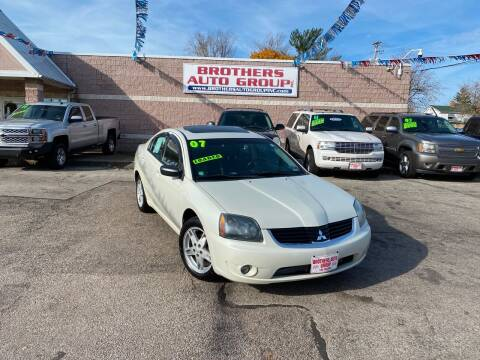 2007 Mitsubishi Galant for sale at Brothers Auto Group in Youngstown OH