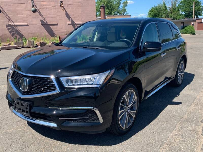 2018 Acura MDX for sale at Elmwood D+J Auto Sales in Agawam MA