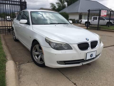 2008 BMW 5 Series for sale at TETCO AUTO SALES  / TETCO FUNDING in Dallas TX