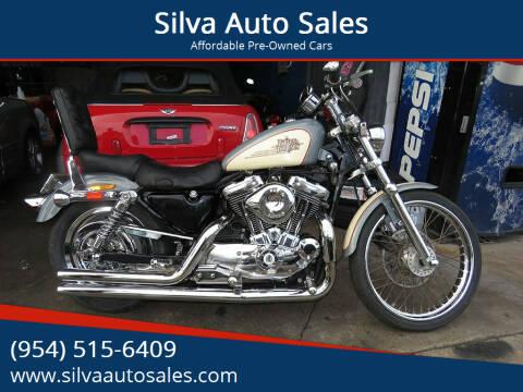 1996 Harley-Davidson Sportster XL1200 for sale at Silva Auto Sales in Pompano Beach FL