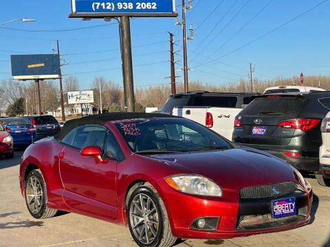 2009 Mitsubishi Eclipse Spyder for sale at Liberty Auto Sales in Merrill IA