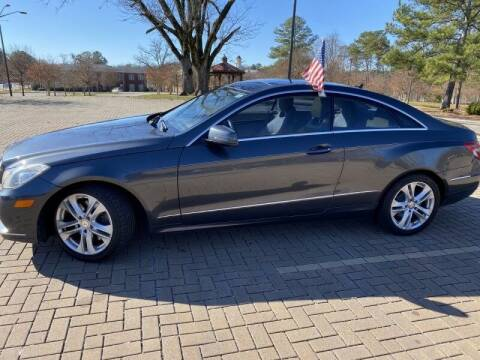 2010 Mercedes-Benz E-Class for sale at JES Auto Sales LLC in Fairburn GA