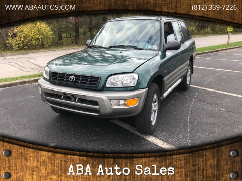 2000 Toyota RAV4 for sale at ABA Auto Sales in Bloomington IN