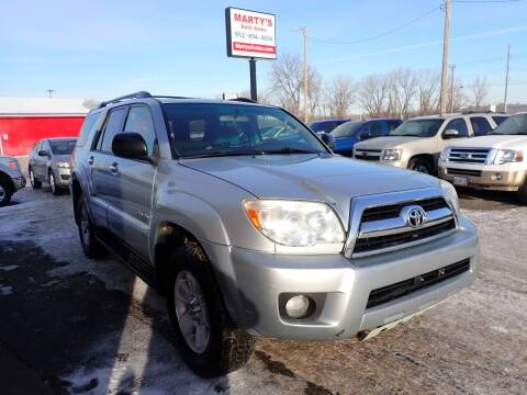 2007 Toyota 4Runner for sale at Marty's Auto Sales in Savage MN