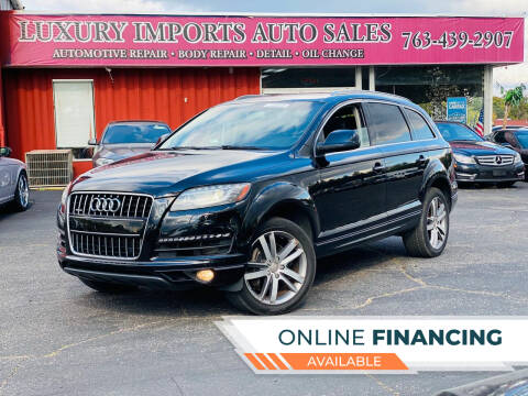 2014 Audi Q7 for sale at LUXURY IMPORTS AUTO SALES INC in North Branch MN