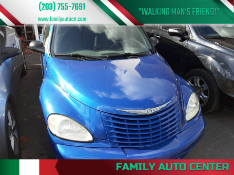 2005 Chrysler PT Cruiser for sale at Family Auto Center in Waterbury CT