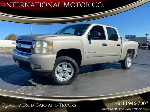 2008 Chevrolet Silverado 1500 for sale at International Motor Co. in St. Charles MO