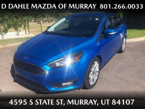 2015 Ford Focus for sale at D DAHLE MAZDA OF MURRAY in Salt Lake City UT
