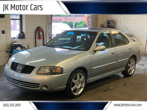 2004 Nissan Sentra for sale at JK Motor Cars in Pittsburgh PA