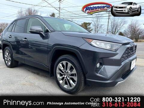 2019 Toyota RAV4 for sale at Phinney's Automotive Center in Clayton NY