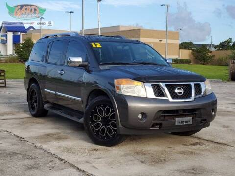 2012 Nissan Armada for sale at GATOR'S IMPORT SUPERSTORE in Melbourne FL
