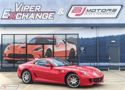 2009 Ferrari 599 GTB Fiorano for sale at BJ Motors in Tomball TX
