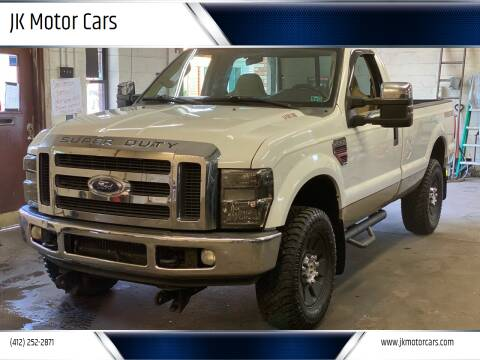 2008 Ford F-250 Super Duty for sale at JK Motor Cars in Pittsburgh PA