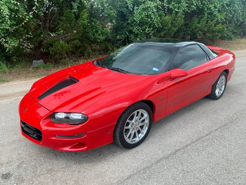 2000 Chevrolet Camaro for sale at TROPHY MOTORS in New Braunfels TX