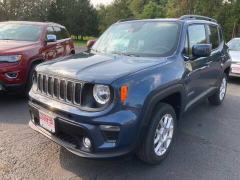 2020 Jeep Renegade for sale at Louisburg Garage, Inc. in Cuba City WI