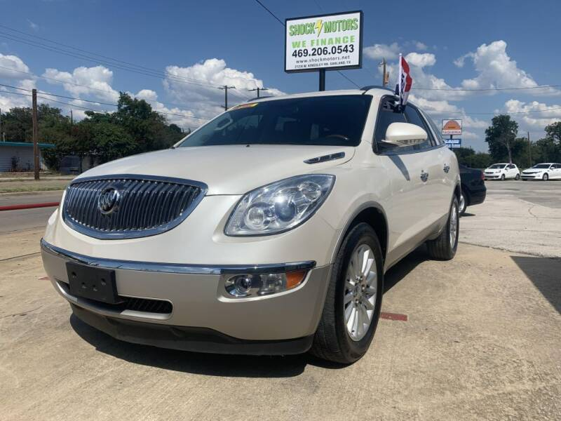 2012 Buick Enclave for sale at Shock Motors in Garland TX