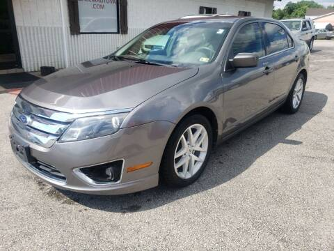 2010 Ford Fusion for sale at Salem Auto Sales in Salem VA