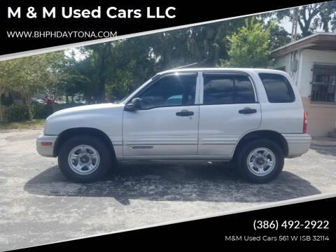 2001 Chevrolet Tracker for sale at M & M Used Cars LLC in Daytona Beach FL