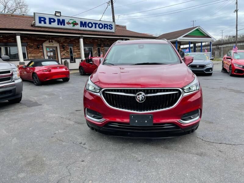 2018 Buick Enclave for sale at RPM Motors in Nashville TN