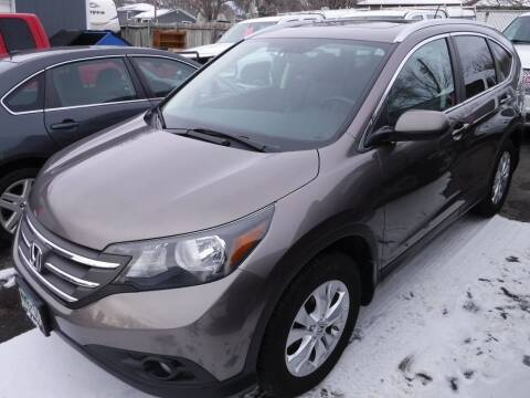 2013 Honda CR-V for sale at J & K Auto - J and K in Saint Bonifacius MN