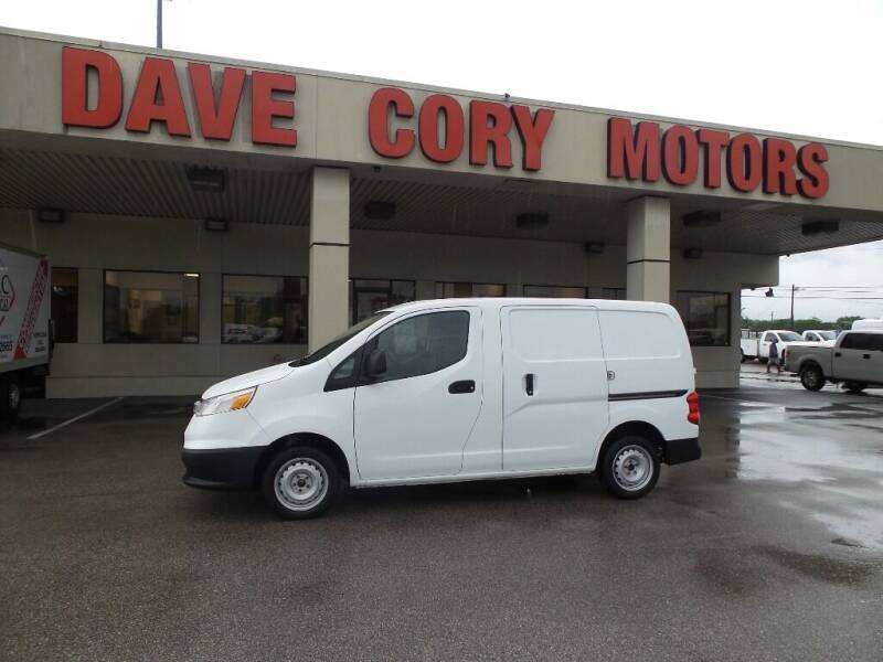 2015 Chevrolet City Express Cargo for sale at DAVE CORY MOTORS in Houston TX